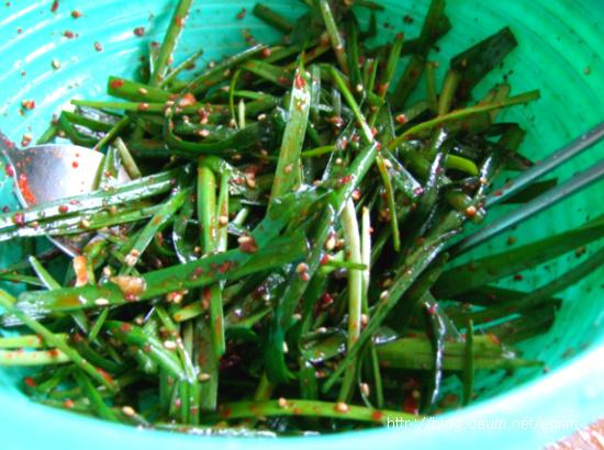 보리밥과 채소로 소박한 밥상, 슬로푸드