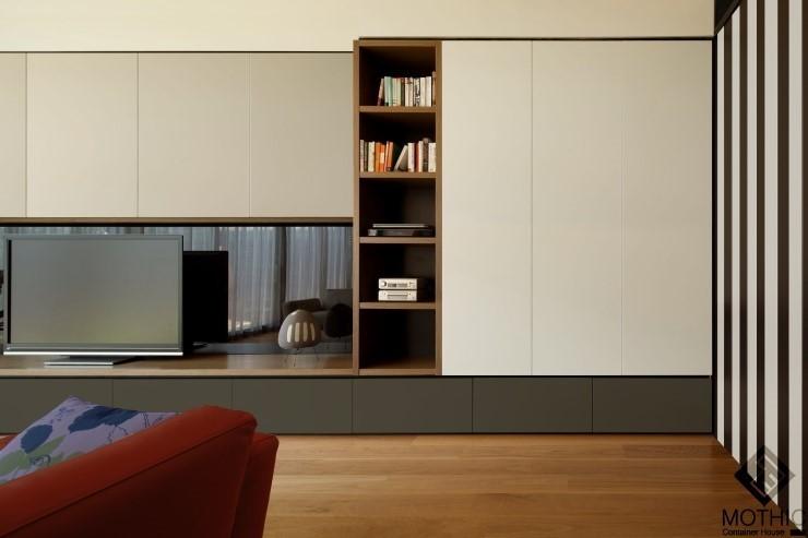"""미래의 컨테이너 디자인 주택 - """"엘리어트 모듈러 집"""""""