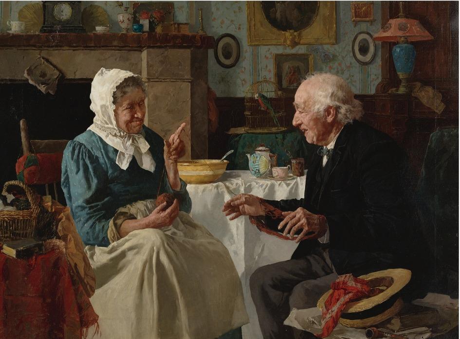 Результат поиска для старики в живописи