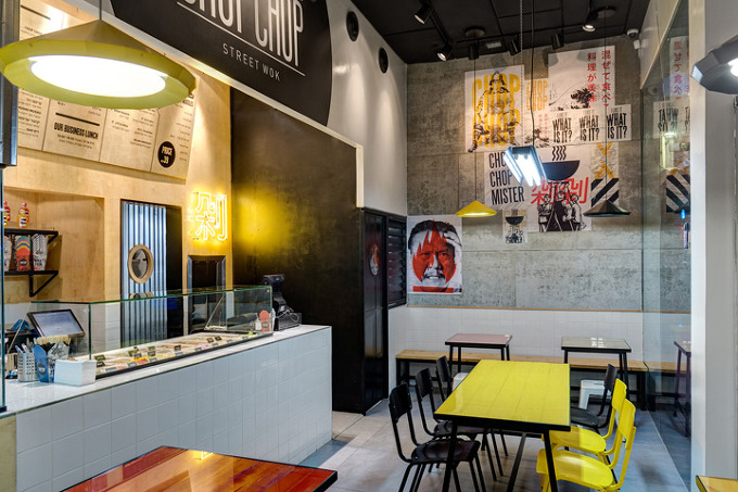 Chop chop fast food Kitchen design for fast food restaurant