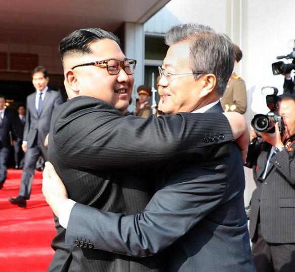 남북한 2차정상회담 깜짝 개최