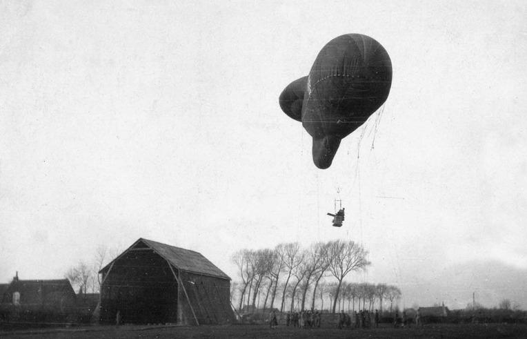 1차 세계대전 당시 프랑스 공군의 르피어 공대공 로켓  - WW1 French Air Force air-to-air Le Prieur Rocket