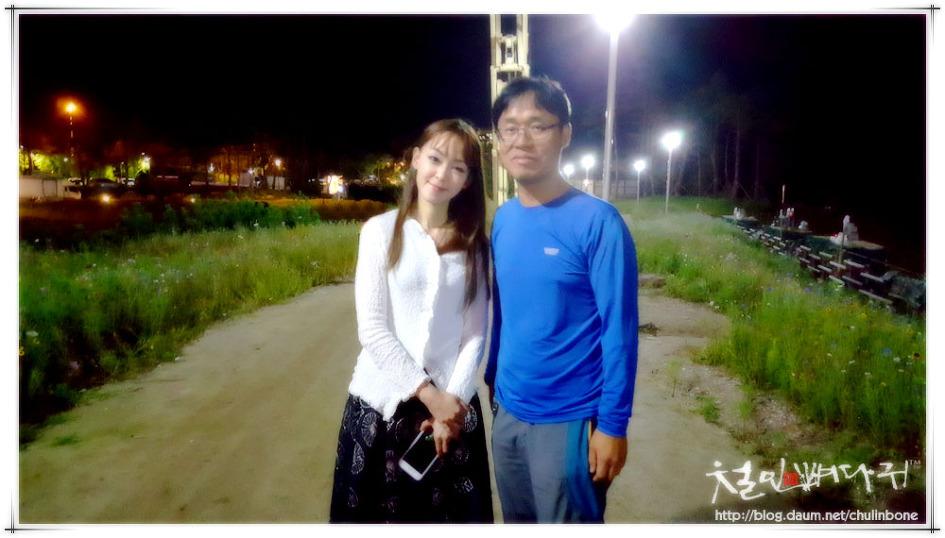 김윤아가수와 함께 사진찍기