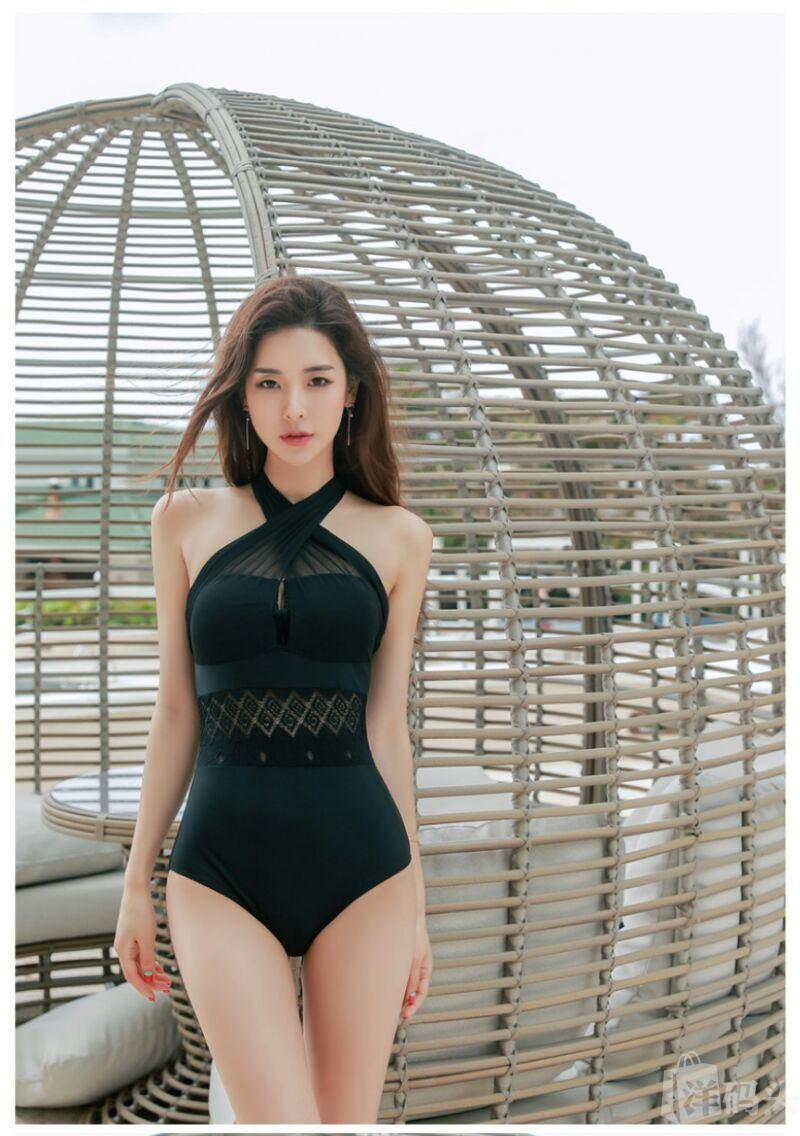 cool bikini Korean girl