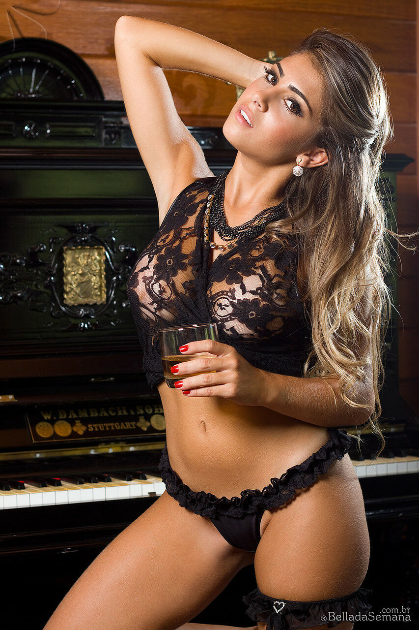 carnal woman in sexy lingerie