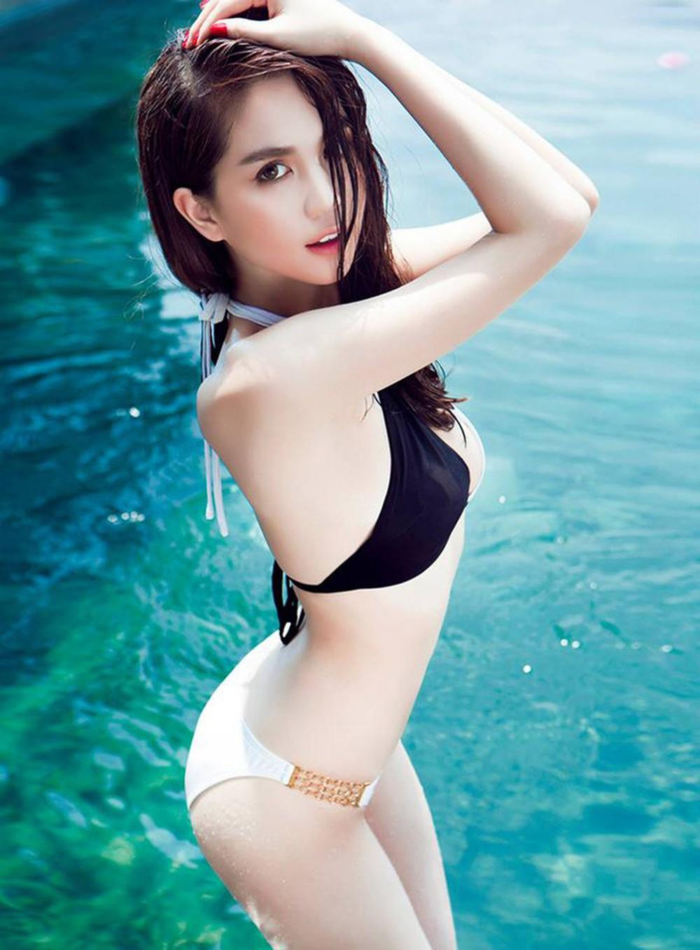 cool girl in bikini